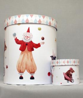 Κουτί βάπτισης τσίρκο