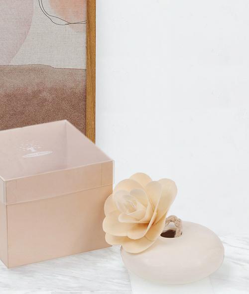 Μπομπονιέρα βάζο αρωματικό λουλούδι